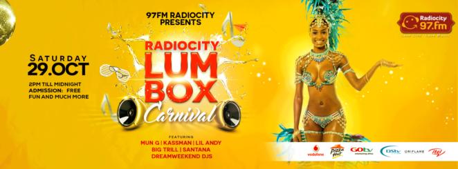 Lumbox Carnival October 29th 2016